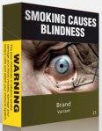 Plain cigarette packaging inAustralia