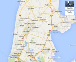 Route Callansoog nach IJmuiden