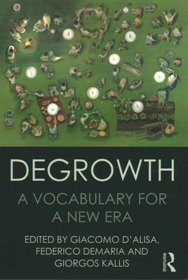 Degrowth book cover